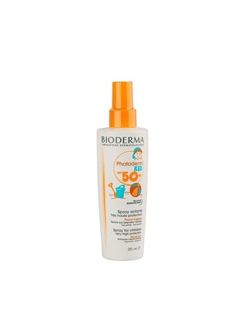 Bioderma Photoderm Kid Spray 200 Ml Renksiz